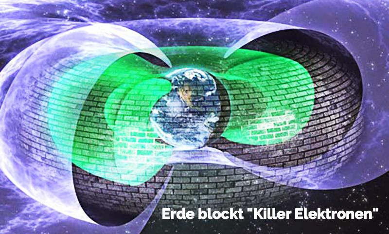 unbekannter planetarer Schutzschild der Erde