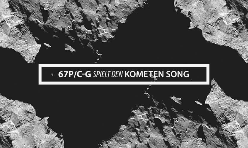 Komet Tschuri Singt
