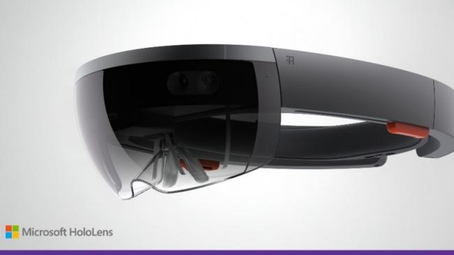 Microsofts HoloLens Brille