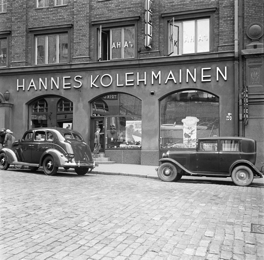 Kaisaniemenkatu 3, Helsinki, 1930s.