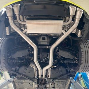 GRAIL Auspuffanlage Camaro Gen. 6 – 3,5 Zoll (BJ 2016+ inkl. Facelift ab 2020)