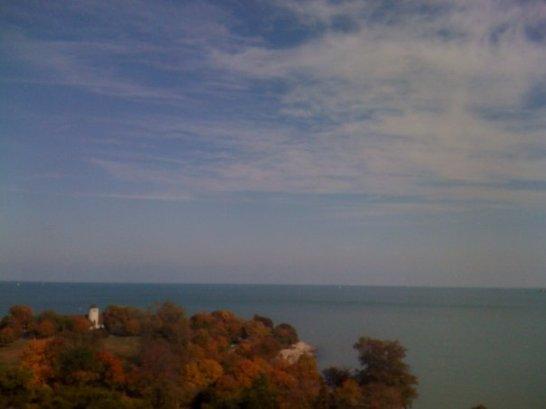 Lake Michigan, Promontory Point, autumn