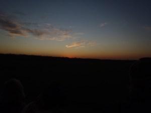 Sunset at Jasper Pulaski Fish and Wildlife Area