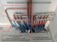 devis eau chaude et froide sanitaire