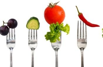 vegan-food-on-forks