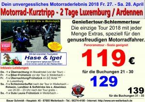 Motorradtour Luxemburg