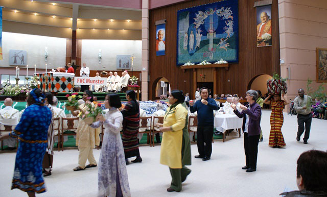 Gospel-procession