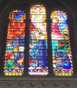 St Peter Claver window in St Mark's