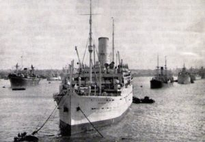 SS Nea Hellas, Port Said 1944