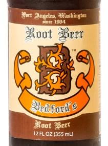 Bedford's Root Beer, Label
