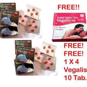 Vigora 100 Tablet 6 Packs