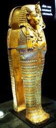 Gold Coffinette for King Tut's Internal Organs