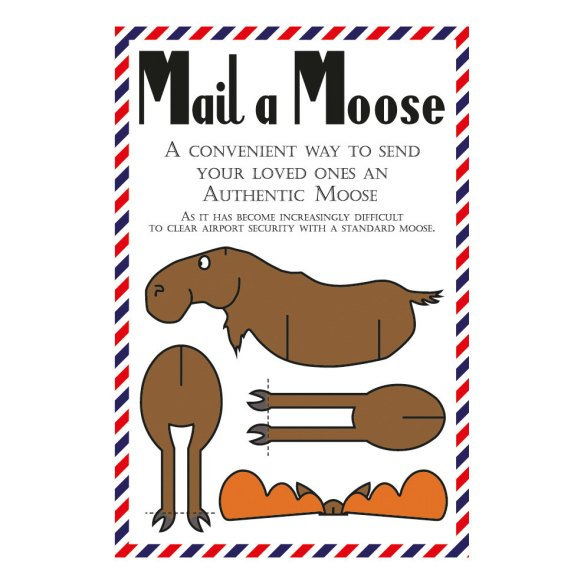 Mail A Moose - Green Banana Postcards