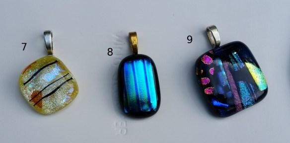 Necklaces 7, 8, 9