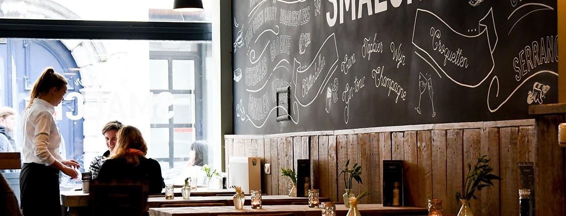 Croquettenbar Smaeck centrum Antwerpen kroketten croquetten lunch diner