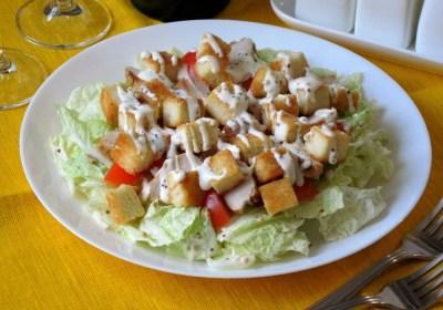 Салат із пекінської капусти