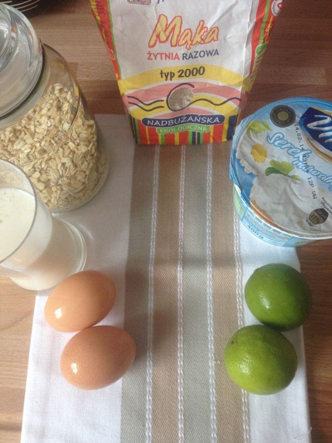 placki serowo-cytrynowe składniki