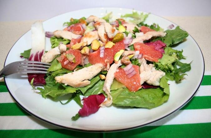salatka wiosenna