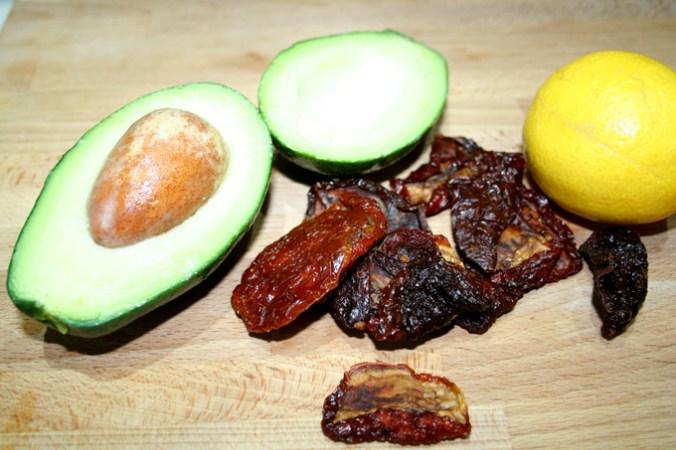 guacamole skladniki