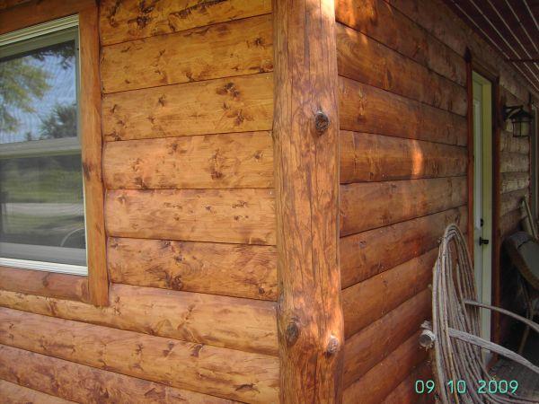 Half Log Siding Small Cabin Forum