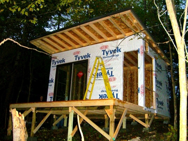 10 X 15 Shed At Xanadu Small Cabin Forum