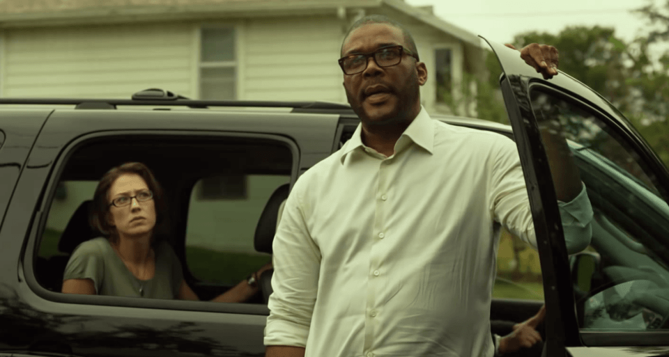 Tyler Perry as Tanner Bolt in Gone Girl (Picture courtesy of 20th Century Fox/ Gone Girl trailer)