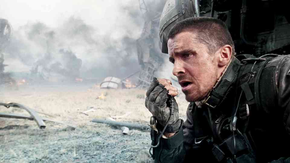Christian Bale as John Connor in Termination: Salvation