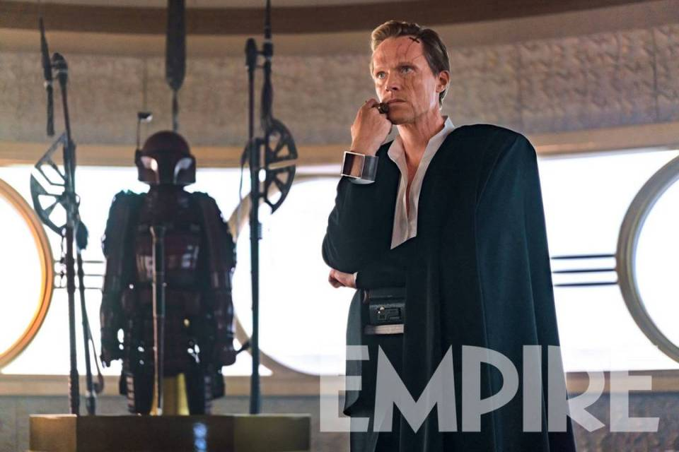 Here is Paul Bettany as Dryden Vos in Solo: A Star Wars Story