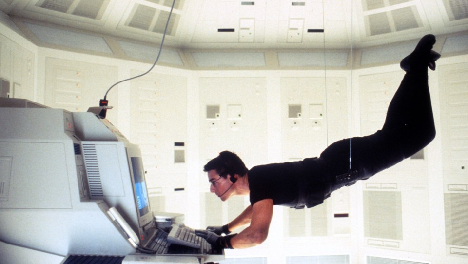 Mission: Impossible (1996) Directed by Brian De Palma