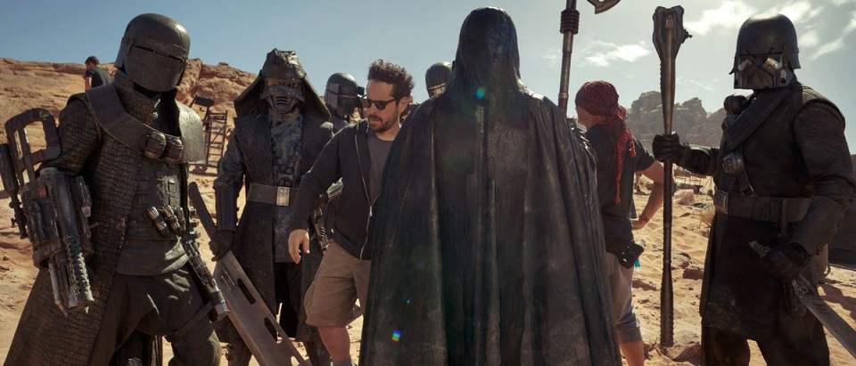 J.J. Abrams and his Knights of Ren
