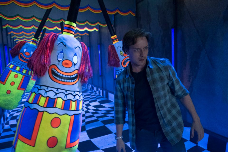James McAvoy in Stephen King's It Chapter 2