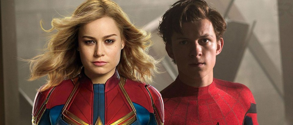 Spidey could have a crush on Captain Marvel in an upcoming movi