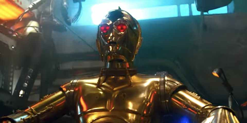 Is C3PO going to be evil in Star Wars: The Rise Of Skywalker?