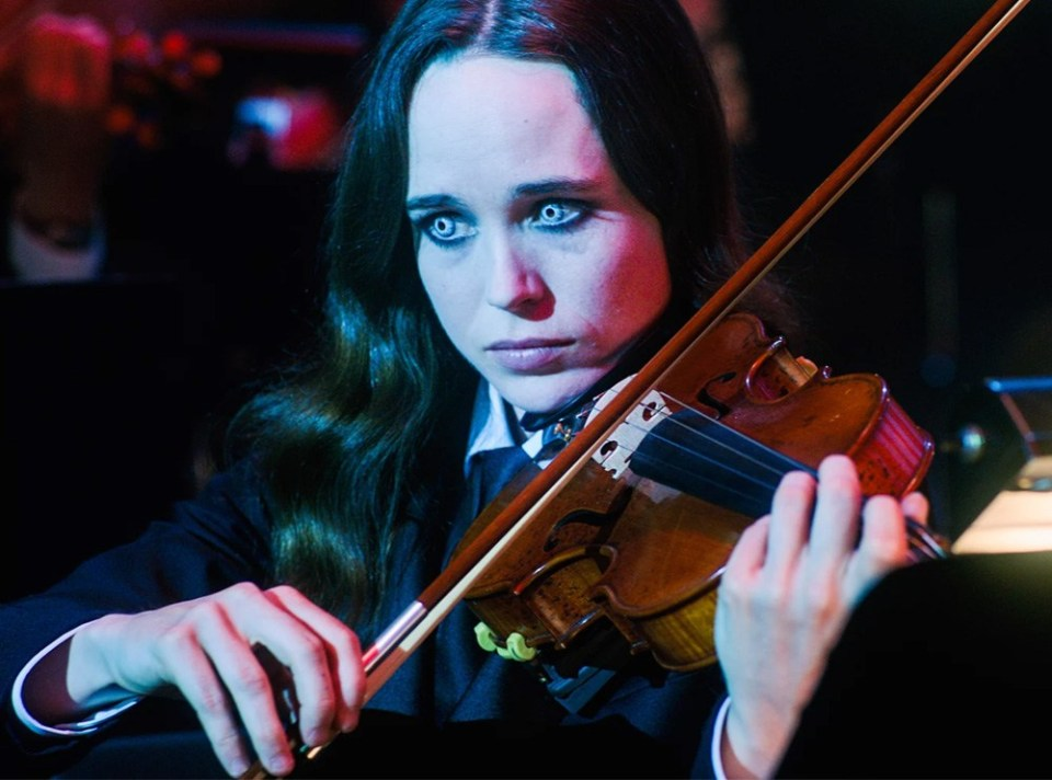 Vanya as The White Violin in The Umbrella Academy