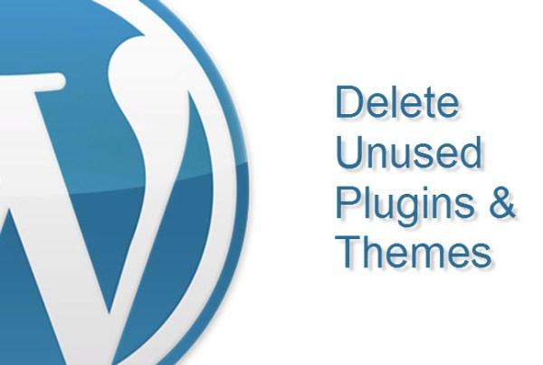 Delete Unused Plugins & Themes