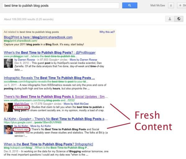 google-fresh