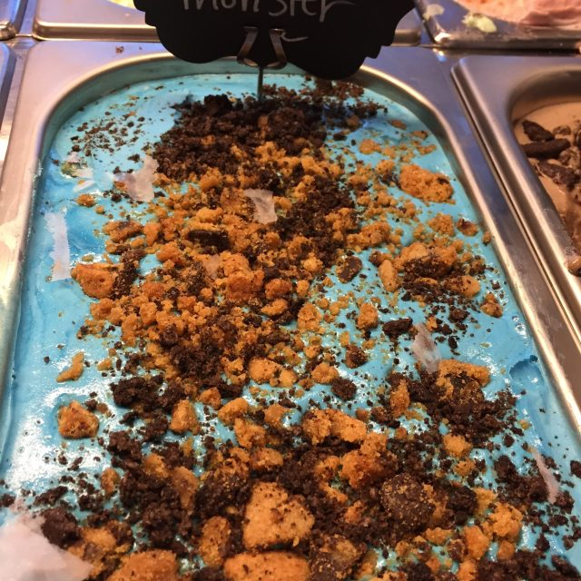 Homemade Cookies Monster Ice Cream