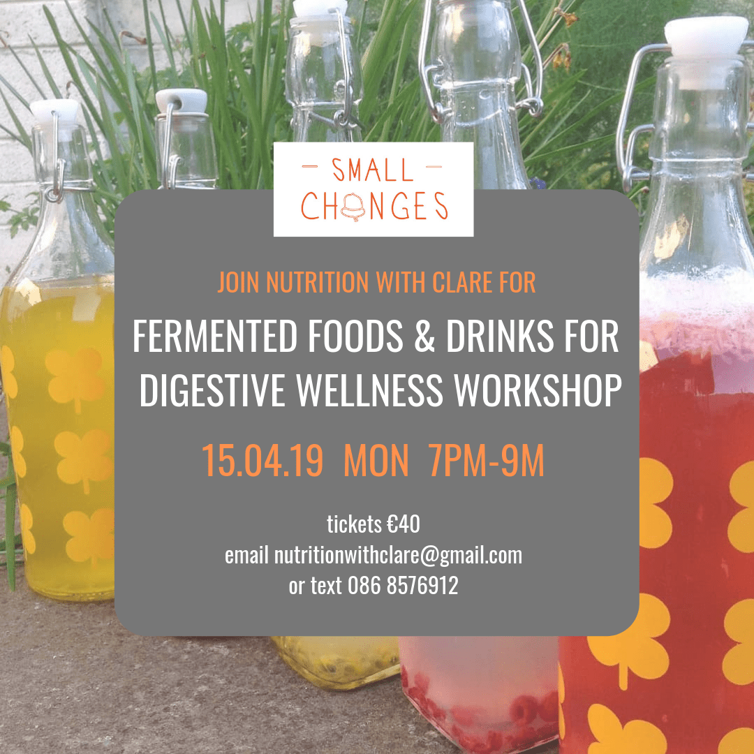 nutrition with clare fermentation workshop
