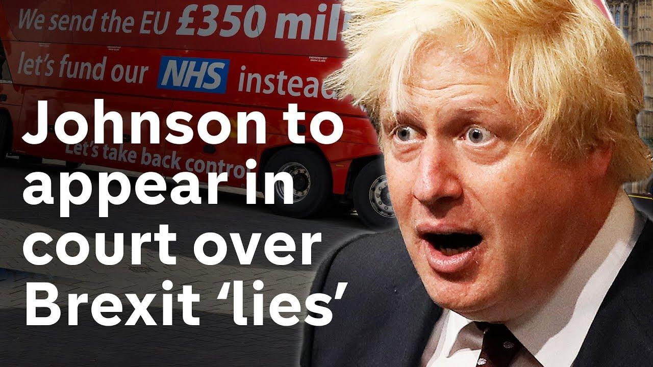 Johnson Brexit lies