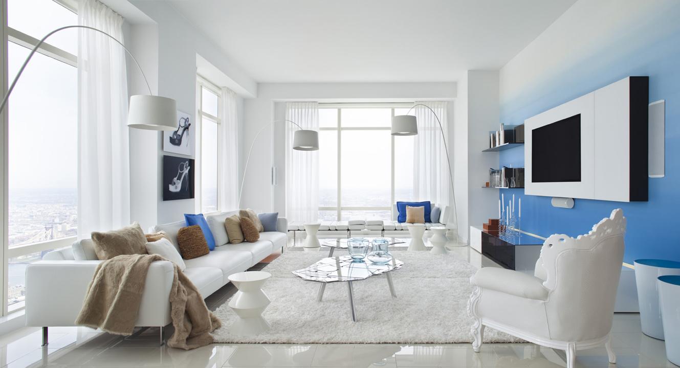 Blue Color Decoration Ideas For Living Room Small Design Ideas