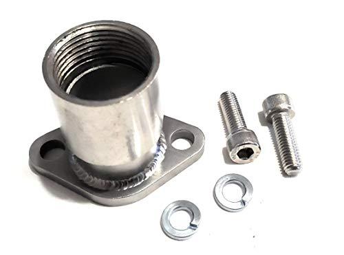 """Header Exhaust Pipe 1/"""" thread for; GX Honda 270 /& 390 Predator 301cc /& 420cc"""