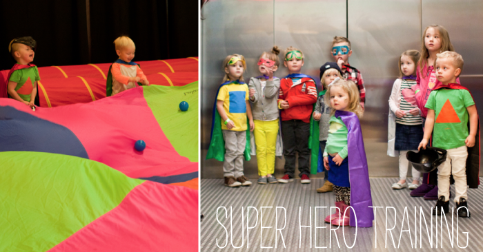 Super Hero Training Party 5