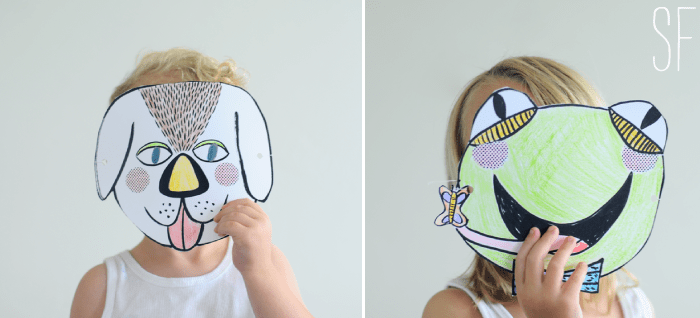 colorable masks