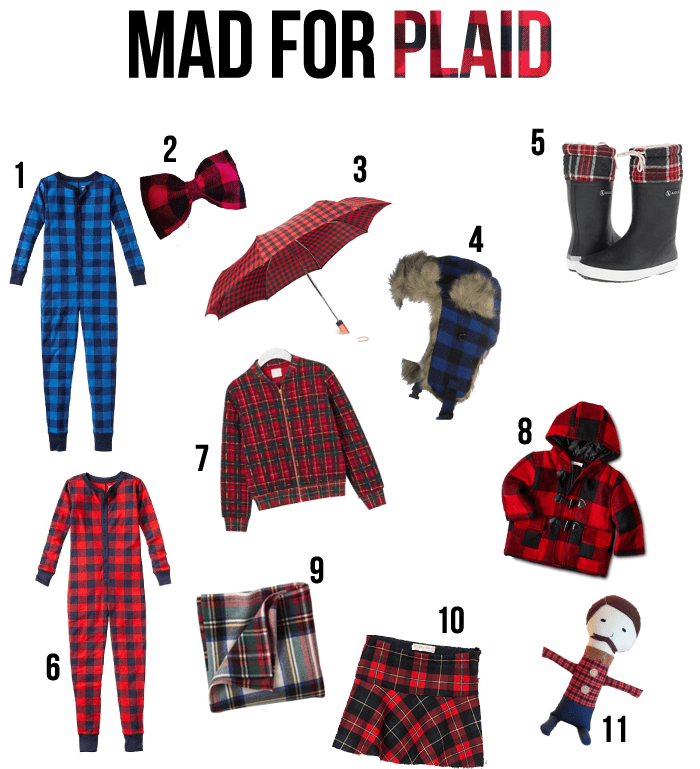 mad for plaid round up for kids