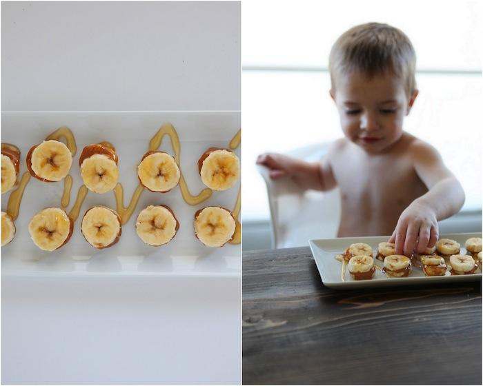 Banana Butter Sandwiches | Paleo Snacks