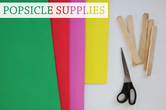 popsicle supplies
