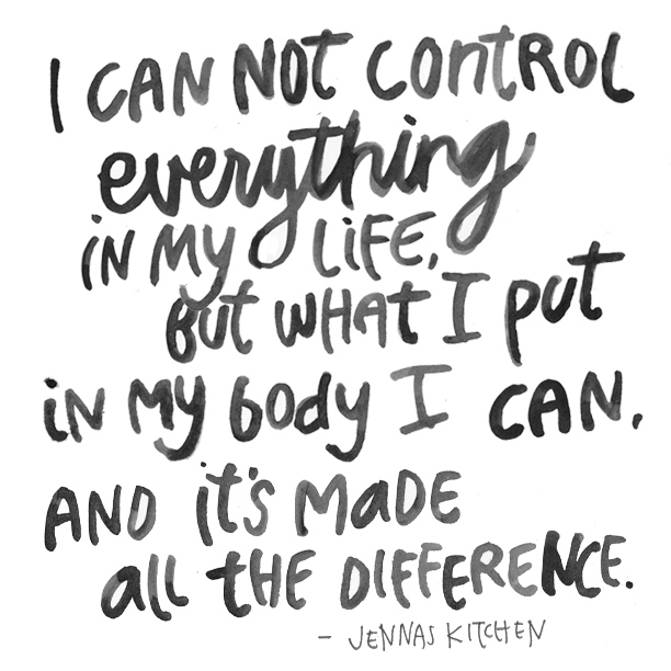 i can not control