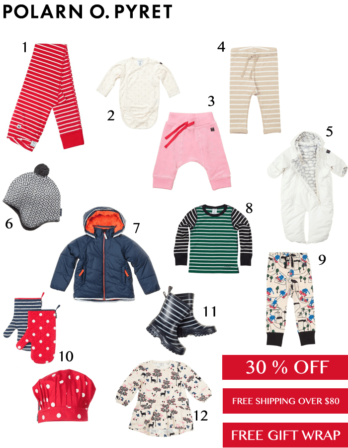 Polarn O. Pyret 30% Off + Gift Wrap