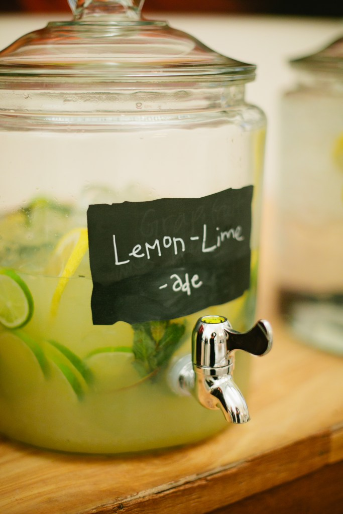 Lemon Lime Ade Spritzer