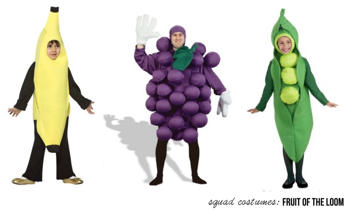 Fruit of the Loom - Store-bought Group Costumes